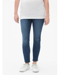GAP Factory - Maternity Inset Panel Jeggings - Lyst