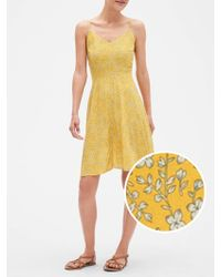 GAP Factory - Fit And Flare Cami Dress - Lyst