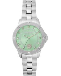 Versus - South Horizons Bracelet 38mm Watch Silver/green - Lyst