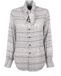 Vivienne Westwood | Hals Shirt Isabel Print | Lyst