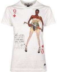 Vivienne Westwood | Women's Juma T-shirt White | Lyst