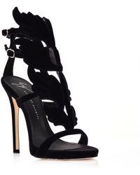126e6801910978 Lyst - Giuseppe Zanotti Cruel Summer Stiletto Sandals in Natural