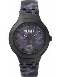 Versus - Laguna City Swarovski 40mm Watch Black Camo - Lyst