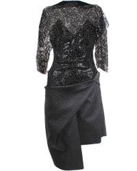 Vivienne Westwood Gold Label   Theia Dress Black   Lyst