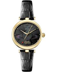 Vivienne Westwood   Belgravia Watch Black/gold   Lyst