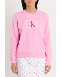 Calvin Klein - Sweatshirt Ck - Lyst