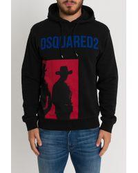 DSquared² - Felpa Con Cappuccio Cowboys - Lyst