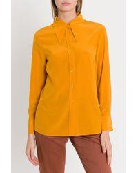 M Missoni - Pointed Collar Shirt - Lyst