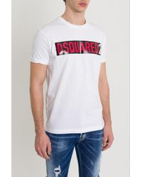 DSquared² - Logo Taping Tee - Lyst