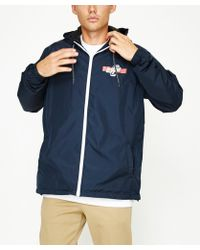 Santa Cruz - Ogsc Block Windbreaker Navy - Lyst
