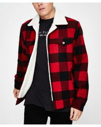 Insight - Lumber City Jack Red Check - Lyst