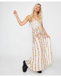 Free People - Claire Printed Maxi Dress Floral Print - Lyst