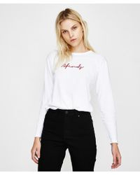 Afends - Void Long Sleeve T-shirt - Lyst