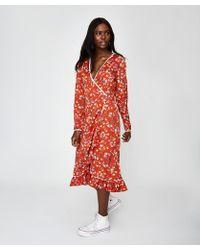 Free People - Convent Garden Midi Dress - Lyst
