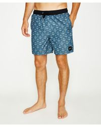 RVCA - Crown Boardshort Washed Navy - Lyst