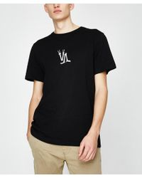 RVCA - Bonzey Short Sleeve T-shirt Black - Lyst