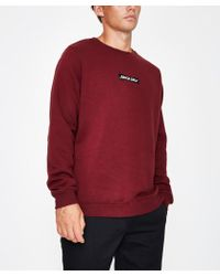 Santa Cruz - Store Crew Sweat Port - Lyst
