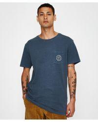 Rhythm - Pocket T-shirt Vintage Indigo - Lyst