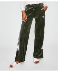 adidas - Track Trousers Base Green - Lyst