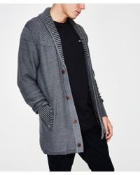 Zanerobe - Salem Knit Black Grey - Lyst