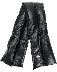 Moncler - Padded Logo Scarf - Lyst