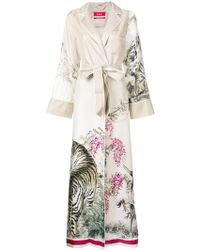For Restless Sleepers - Roda Tiger Print Dress - Lyst