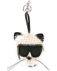Stella McCartney - Faux-fur Charm - Lyst