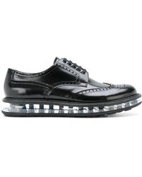 Prada - All Designer Products - Air Soled Brogues - Lyst