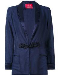 For Restless Sleepers - Armonia Linen Jacket - Lyst