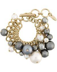 Lanvin - Faux Pearl Bracelet - Lyst