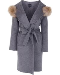 Hotel Particulier - Hooded Coat - Lyst