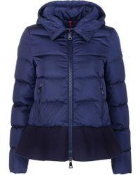 Moncler Lochet Quilted Puffer Jacket Black