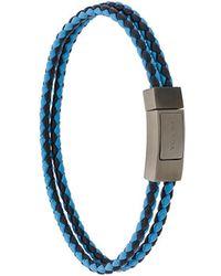 Prada - Braided Bracelet - Lyst