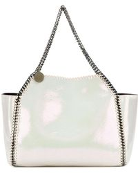 Stella McCartney | Iridescent Falabella Shopping Bag | Lyst