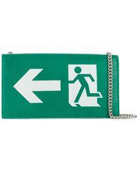 Vetements - Exit Shoulder Bag - Lyst