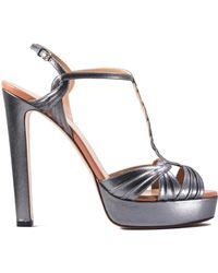 Francesco Russo - Side Buckle Platform Sandals - Lyst