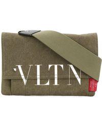 Valentino - Blend Front Logo Messenger Bag - Lyst