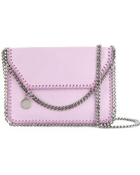 Stella McCartney - Falabella Foldover Shoulder Bag - Lyst