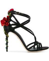 Dolce & Gabbana - Jewel Keira Heeled Sandals - Lyst