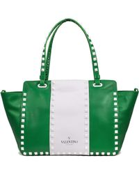 Valentino - Rockstud Shopping Tote - Lyst