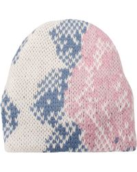 Tak.ori - Multicolor With Flower Cortina Hat - Lyst