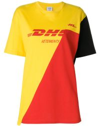 Vetements - Dhl Printed T-shirt - Lyst