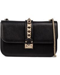 Valentino - Shoulder Bag With Chain - Lyst