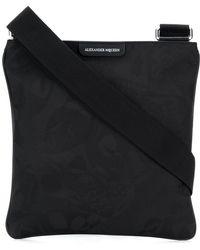 Alexander McQueen - Jacquard Messenger Bag - Lyst