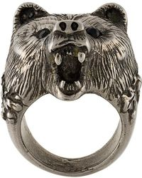 DSquared² - Bear's Head Ring - Lyst