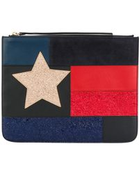 Tommy Hilfiger - Patchwork Flag Pouch - Lyst