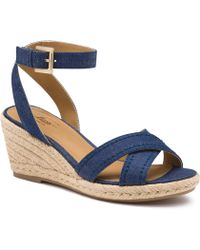 G.H. Bass & Co. - Kendall Wedge Sandal - Lyst