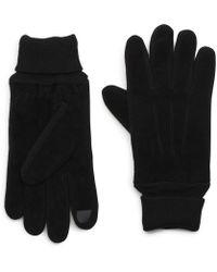 G.H.BASS -  Suede Knit Glove - Lyst