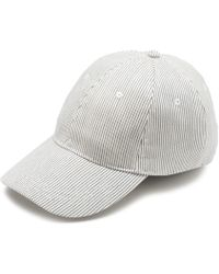 G.H. Bass & Co. - Striped Baseball Hat - Lyst