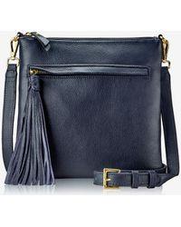 d7a34425b283 Lyst - Tory Burch Scout Nylon Crossbody Bag in Blue